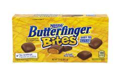 Nestle Butterfinger Bites Stock Photos