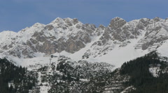 Amazing mountains near Innsbruck Stock Footage