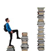 Escalation of knowledge - stock photo