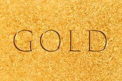Naturally Mined Placer Gold - stock photo