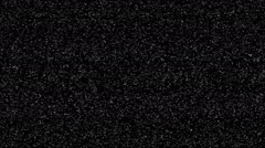 Tv snow static noise black and white  Stock Footage