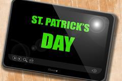 St patrick's day - stock illustration