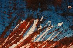 Stripes, hot batik, background texture, handmade on silk, abstract surrealism - stock illustration