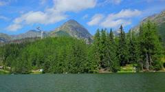 Tatras mountains in Slovakia Stock Footage