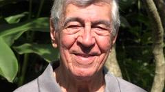 Happy Male Adult Senior - stock footage