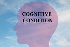 Cognitive Condition concept Stock Illustration