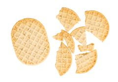 Small cookies isolated Stock Photos