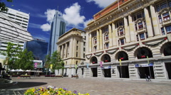 View of General Post Office at Forrest Place Stock Footage