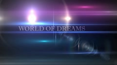 World Of My Dreams Stock After Effects