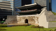 Namdaemun / Sungnyemun, Seoul, South Korea  Stock Footage