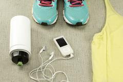 Stock Photo of Beautiful sport set for running.