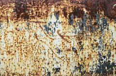 Grungy rusty metal texture - stock photo