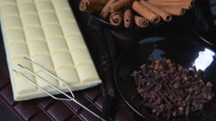 Chocolate bar-Travelling Stock Footage