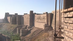 Herat, citadel, Afghanistan.mp4 Stock Footage