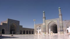 Herat, Great Mosque, Afghanistan.mp4 Stock Footage