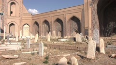 Herat, old mosque, Afghanistan (3).mp4 Stock Footage