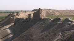 Mazar-e Sharif, ruins of ancient Balkh, Afghanistan (3).mp4 Stock Footage