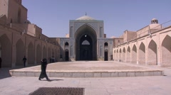 Yazd Jame mosque, Iran.mp4 Stock Footage