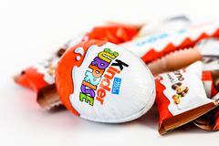 Kinder Chocolate Stock Photos