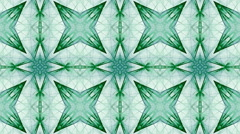 Mosaic fractal geometric kaleidoscopic - stock footage