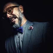 Portrait of a Beard Man - stock photo