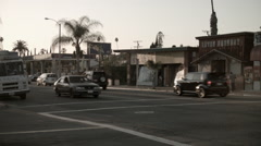 East Los Angeles Cesar Chavez Blvd Stock Footage