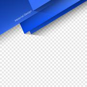 Polygonal Material Design - stock illustration