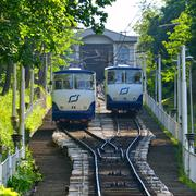 Kiev Funicular Railway - stock photo