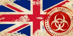 Great britain flag - stock illustration