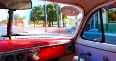 4K Cuba Havana Car, Classic American Car, Transport Stock Footage