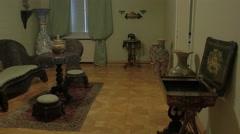King Nicholas Museum interior Stock Footage
