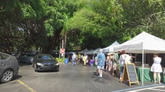 Pinecrest Gardens farmers market Stock Footage