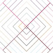 Abstract Modern Pattern Created from Repetitive Shapes Stock Illustration