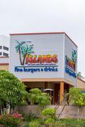 Islands Fine Burgers & Drinks Exterior - stock photo