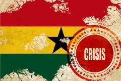Ghana flag Piirros
