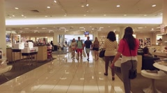 Dadeland Mall Kendall FL Stock Footage