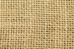 beige sackcloth texture closeup - stock photo