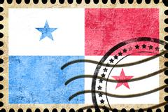 Panama flag Stock Illustration