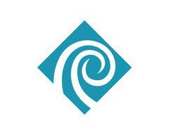 Wave Logo Template Stock Illustration