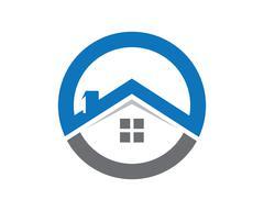 Property Logo Template - stock illustration