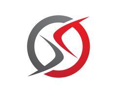 S letter logo Template Stock Illustration