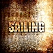 sailing sign background - stock illustration
