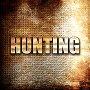 Stock Illustration of hunting sign background