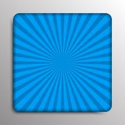 Vector abstract colored rays of the sun. - stock illustration