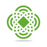 Logo Abstract Infinity Corporation Stock Illustration