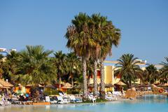 Luxury hotel resort in Tunisia Stock Photos