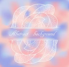 Abstract colorful background with pattern. - stock illustration