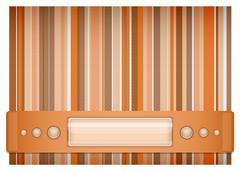 Orange - brown background. Stock Illustration