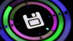 Save icon. Looping. Stock Footage