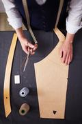 Profession of tailor - stock photo